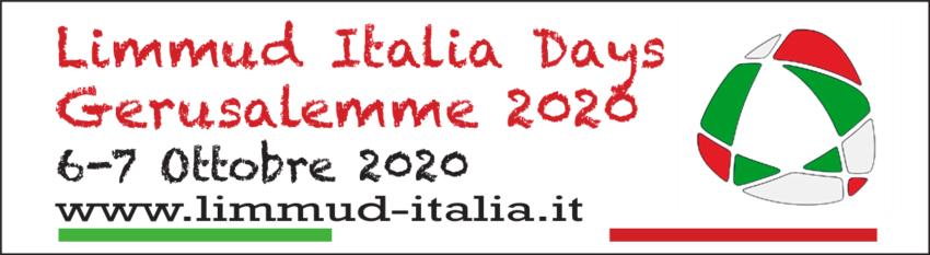Limmud Italia Days Gerusalemme (6-7 ottobre 2020): Iscrizioni Aperte